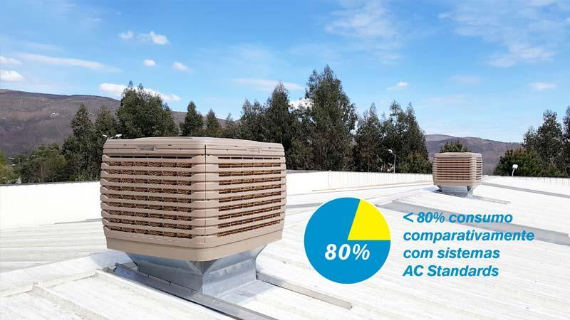 BIOCOOLER SMART - ARREFECIMENTO 100% NATURAL - Ideal para grandes edifícios