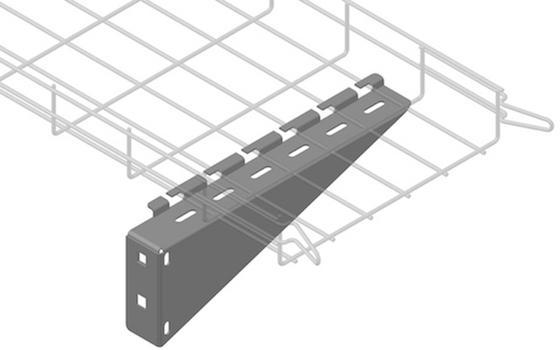 Supports et Accessoires chemins de câbles fil - Éléments de support et d'accessoires pour les chemins de câbles en fil