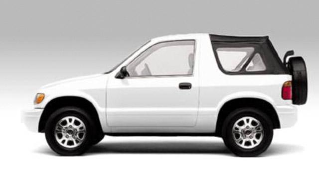 Kia Sportage 4X4 - 2000cc - 3 Doors