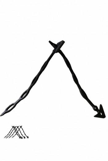 Tendeur élastique long 21.5cm lot de 10 - Attache pour tuteur