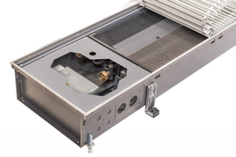 Convectorputverwarming Katherm HK - Verwarmen of koelen met energie-efficiënte EC-dwarsstroomventilato