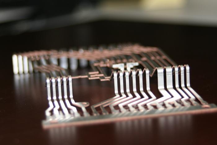 Laserfeinschneiden von Kupfer, Messing,... - null