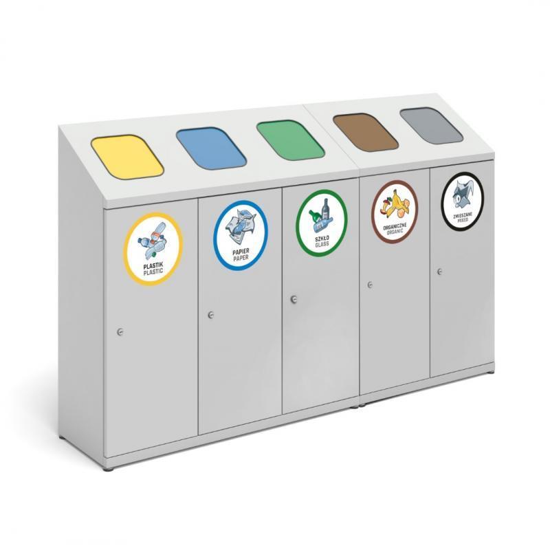 Pojemniki do segregacji odpadów PSO -