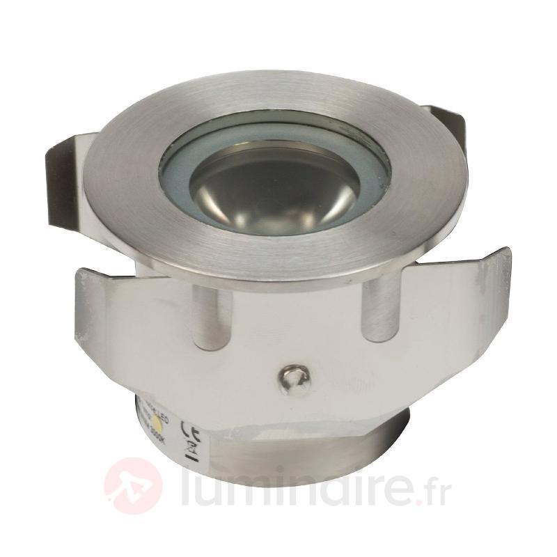 Spot LED encastré dans le sol 60 mm - Luminaires LED encastrés au sol