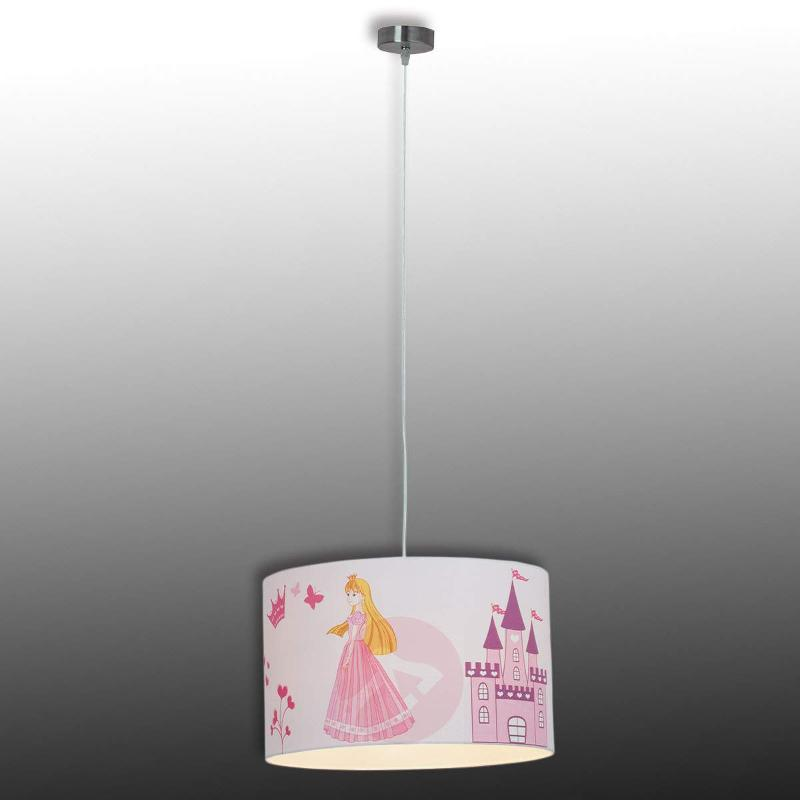 Children's hanging light Princess - Pendant Lighting