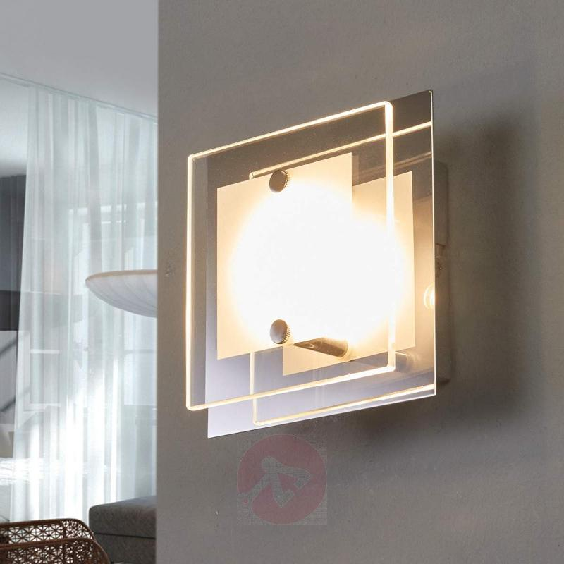 Small wall lamp Lene with LED 12 cm - Wall Lights
