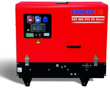 POWER GENERATOR for Professional users - ESE 608 YS-GT ES Diesel