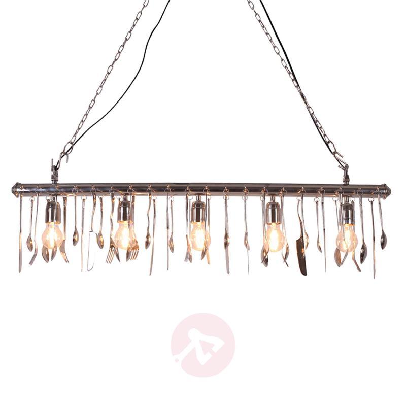 Fantastic Cutterly 5-bulb pendant light - indoor-lighting