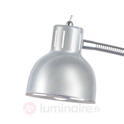 Lampadaire LED minimaliste Duett alu - Lampadaires LED