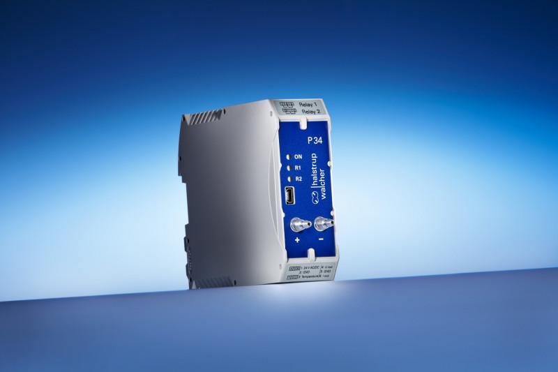 Trasduttore di pressione differenziale P 34 - Trasduttore di pressione differenziale di minimo ingombro per armadio elettrico