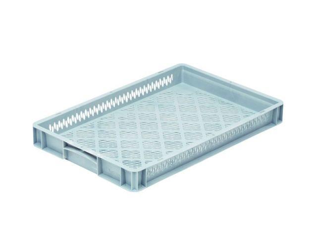 Stapelbehälter: Base 6407 2 OG - Stapelbehälter: Base 6407 2 OG, 600 x 400 x 70 mm
