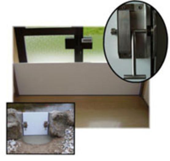 Hochwasserfenster und -türen -