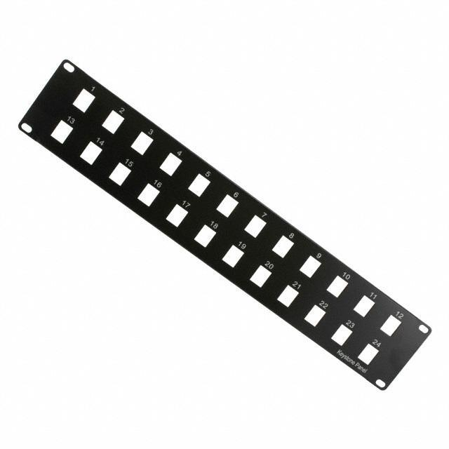"PATCH PANEL 19"" 24PORT BLANK - Assmann WSW Components A-PAN-24-MOD"