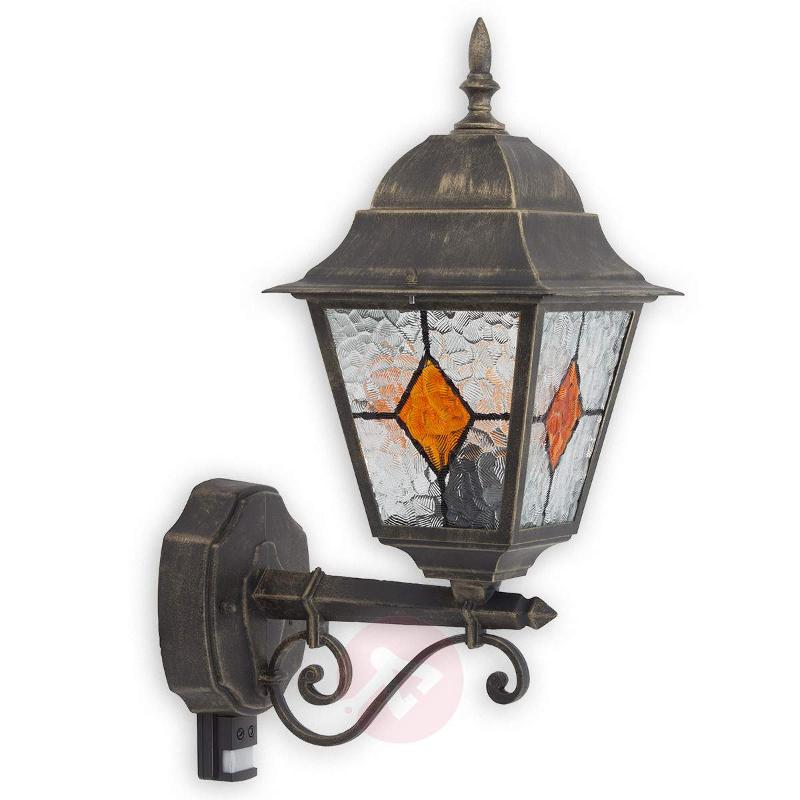 Jason outdoor wall light with motion detector - Wall Lights with Motion Sensor
