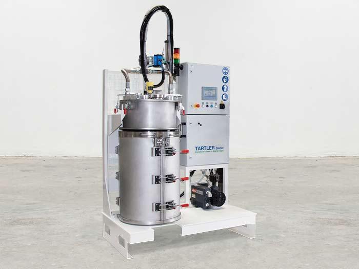 TAVA 200 F | Vakuum-Abfüllstation - System zum Abfüllen von 200 l Fässern unter Vakuum