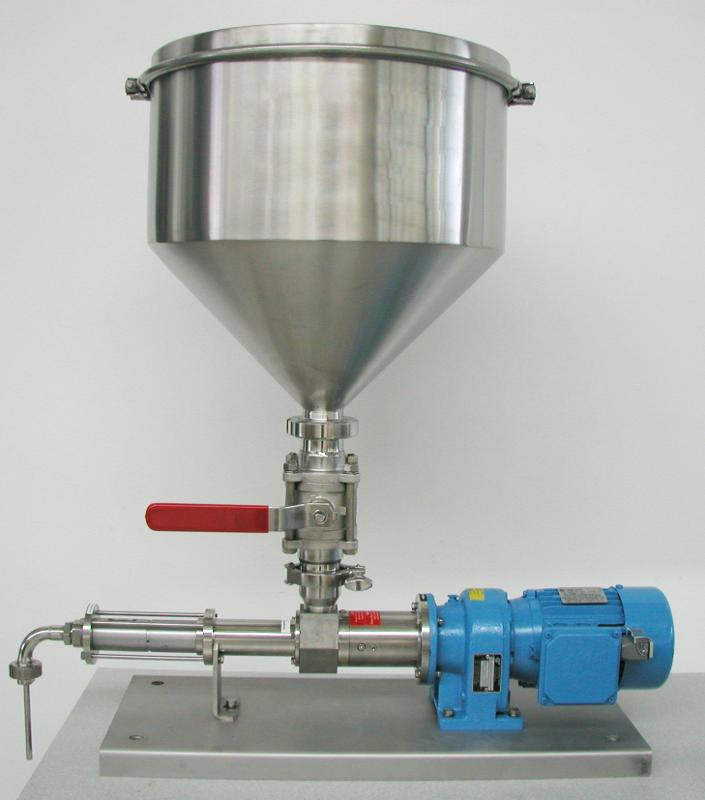 Selbstansaugende Pumpe 3VMP18/Verdrängerpumpe - Dosierung hochviskoser Flüsskigkeiten/7,5 ml/U/Volumetrisches Dosiergerät