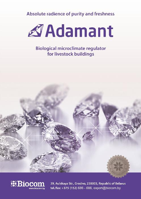 Adamant - Complex of minerals and essential oils, which possess high absorbing capacity