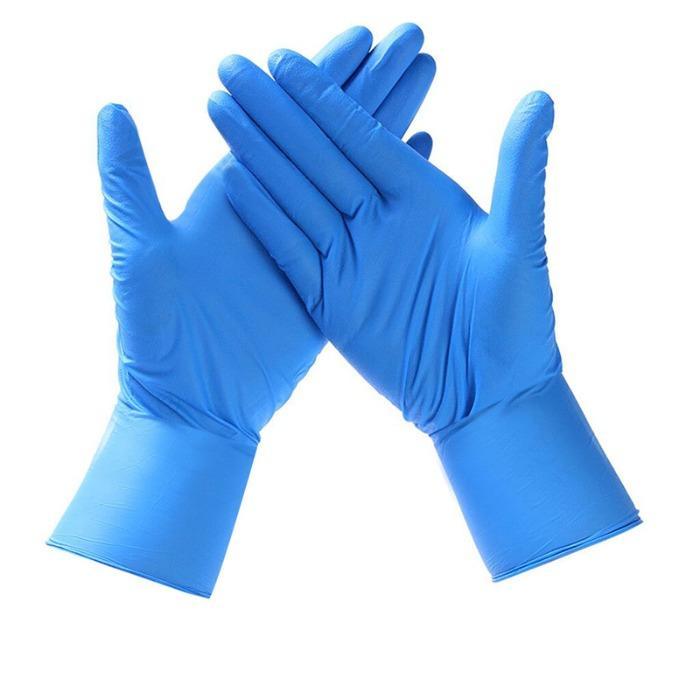 Nitrile Disposable Gloves Powder-Free Nitrile Gloves EN455 - Nitrile Disposable Gloves Powder Free Nitrile Inspection Gloves EN455