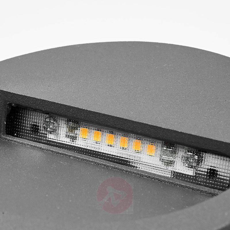 Round LED recessed wall light Loya - Brick Lights