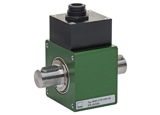 精密扭矩传感器 - 8656 - 非常短的设计,非接触式,可旋转,坚固可靠,易于操作