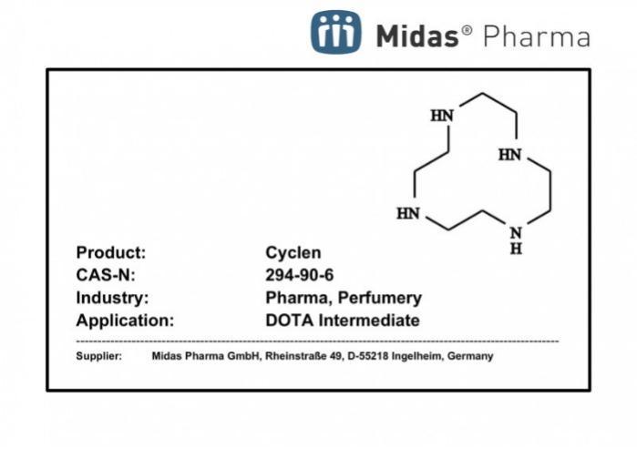 Cicleno - Cicleno; 294-90-6; Intermediario; Industria farmacéutica; Fragrancias