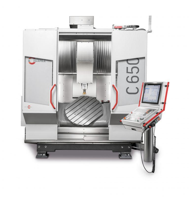Centro de usinagem C 650 - O C 650 estabelece novos padrões na distância de viagem e capacidade de carga