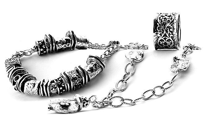 Ювелирные украшения из серебра в этническом и историческом с