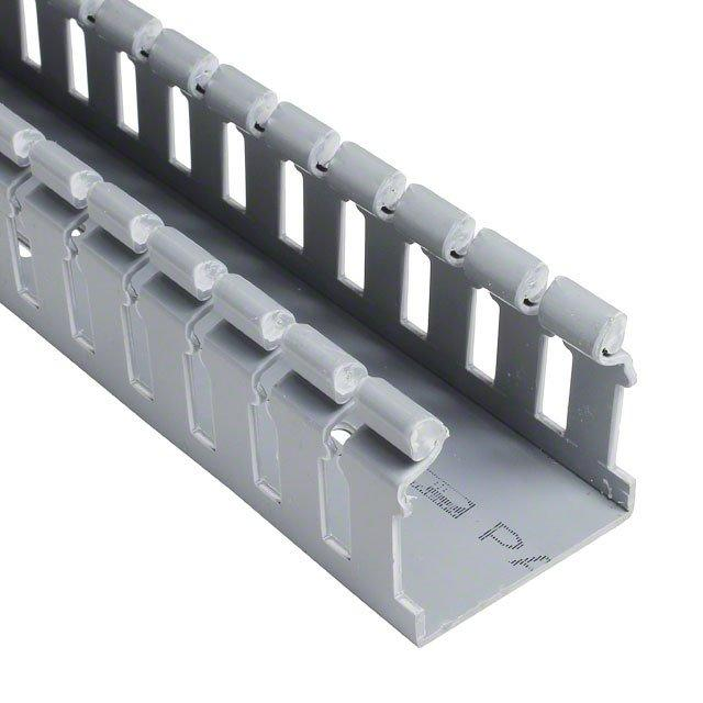 DUCT HINGED PVC SLOT LGRY 6' - Panduit Corp H2X2LG6