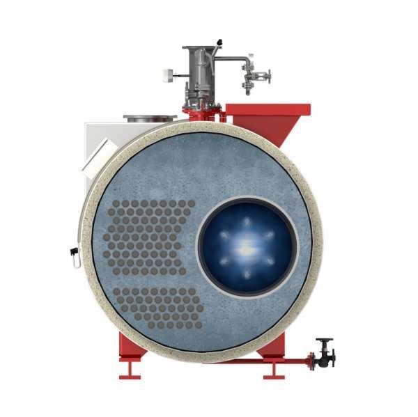 Heißwasserkessel - Typ UT-H - Heißwasserkessel / Öl / Flammrohr - Typ UT-H