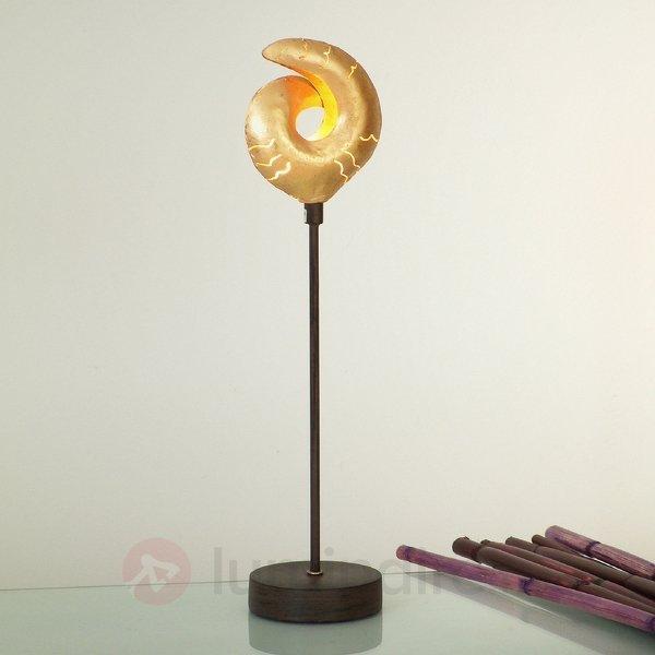 Lampe à poser décorative GAZELLA dorée - Lampes à poser pour rebord de fenêtre