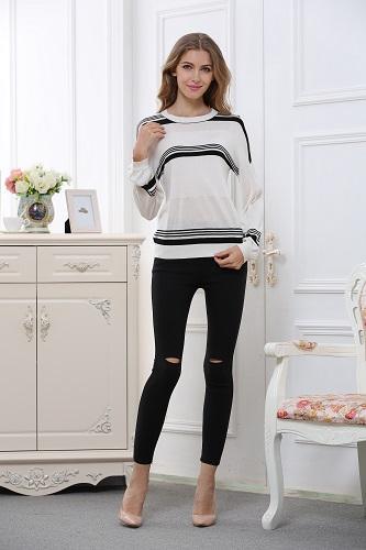 women's long sleeve jumper W1601