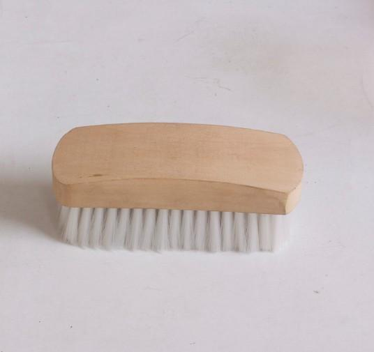 Wooden horse dandy grooming brush/ face brush - Wooden horse dandy grooming brush,face brush with  Wood Grip and Nylon Bristle