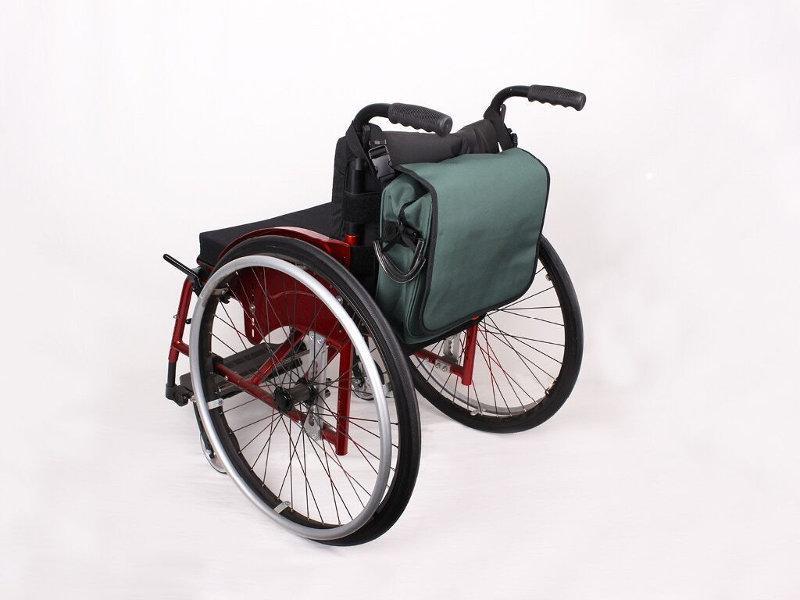 Taschen und Rücksäcke - Unsere Taschen, Messenger Bags und Rucksäcke für Rollstuhlfahrer
