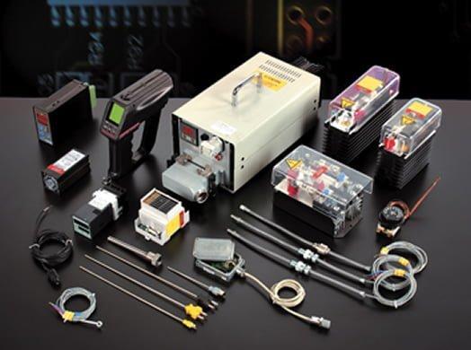 Termocoppie, termoresistenze, pirometri infrarossi, relè statici, monofasi - null