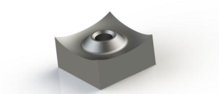 Schneidkrone 40x40x20 mm für VECOPLAN® Shredder und... - null