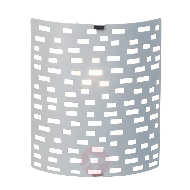Melville - modern wall light with angular pattern - indoor-lighting