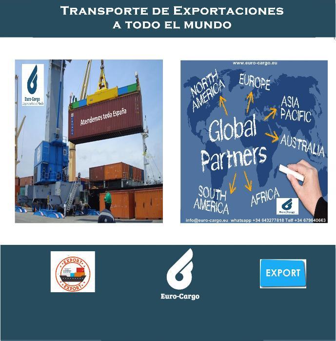 Transporte de Mercancias a todo el Mundo - Servicio de Transporte aéreo y marítimo