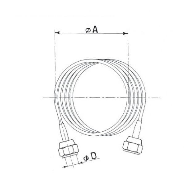 Druckausgleichsleitung / Kapillarrohr mit... - Kälte Montagematerial für Kältetechnik