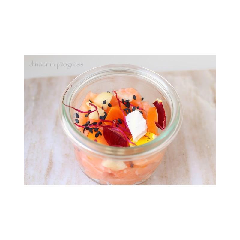 6 glass jars weck Mold shape 50 ml - Jars Weck® MOLD