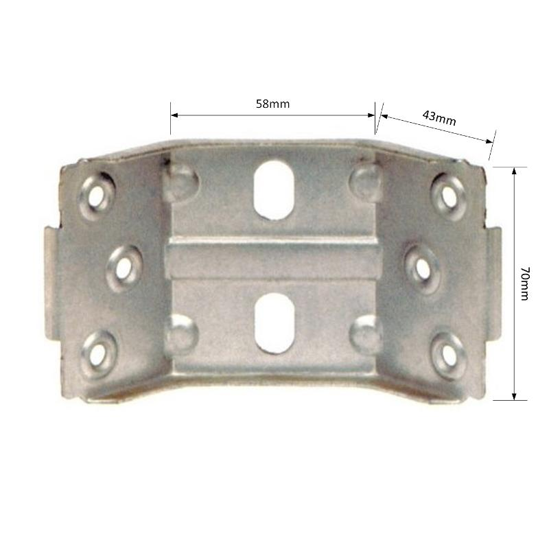 STRENGTHENED ANGLE BRACKET ANRI7058 - Tables fittings