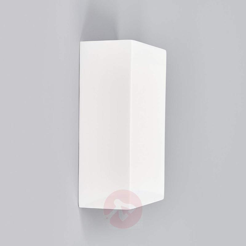 Fabiola plaster wall light - Wall Lights