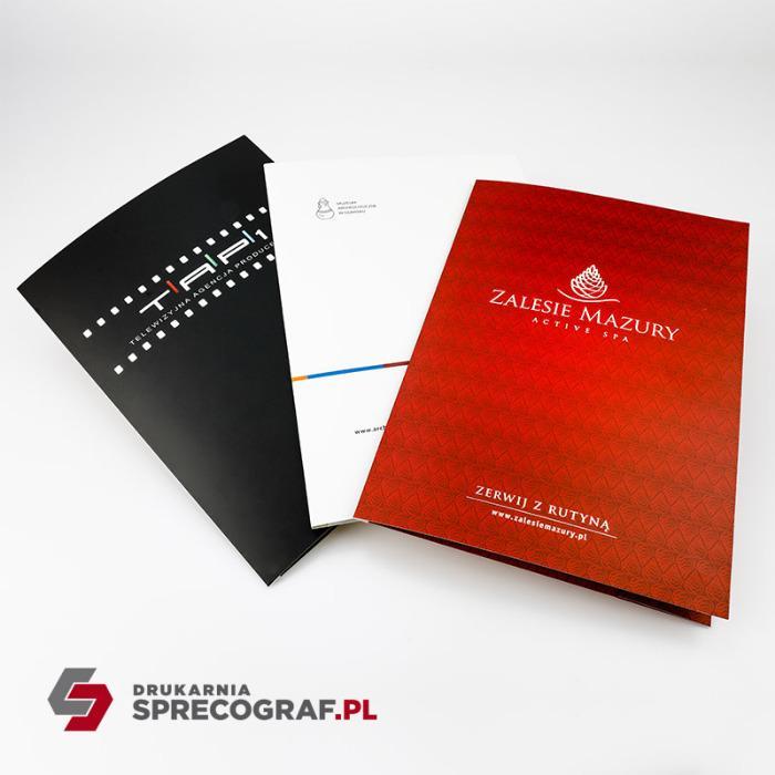 Presentasjonsmapper - Presentasjonsmapper, laminerte mapper, pappmapper, varm stempling