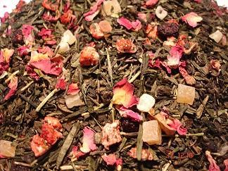 Té aromatizado - Mezclas de té flores, especias y/o bayas