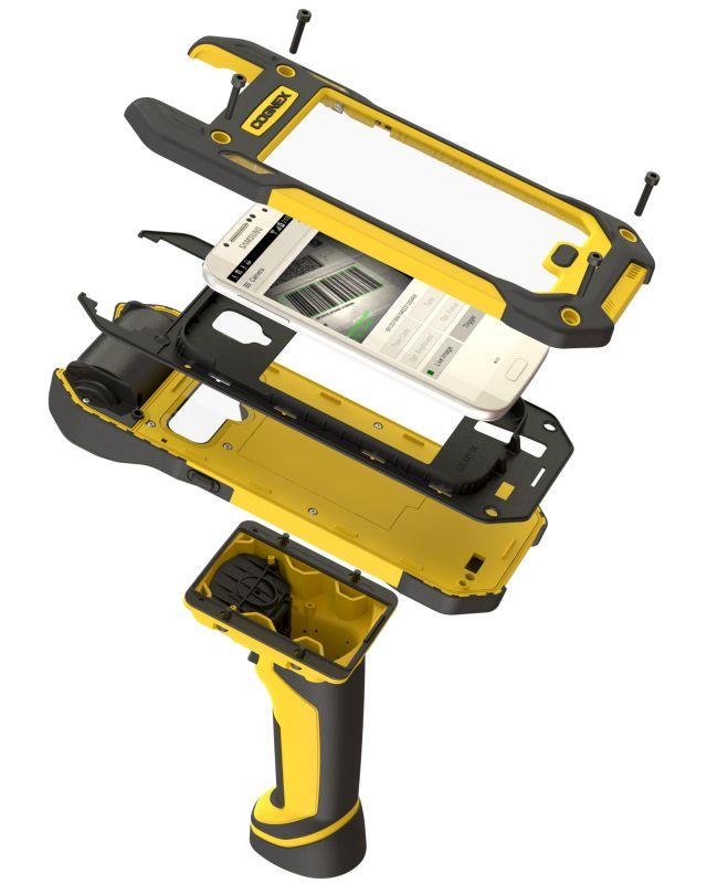 MX-1000 Series Mobile Barcode Reader - Image-based barcode reading technology plus your smartphone in a rugged device