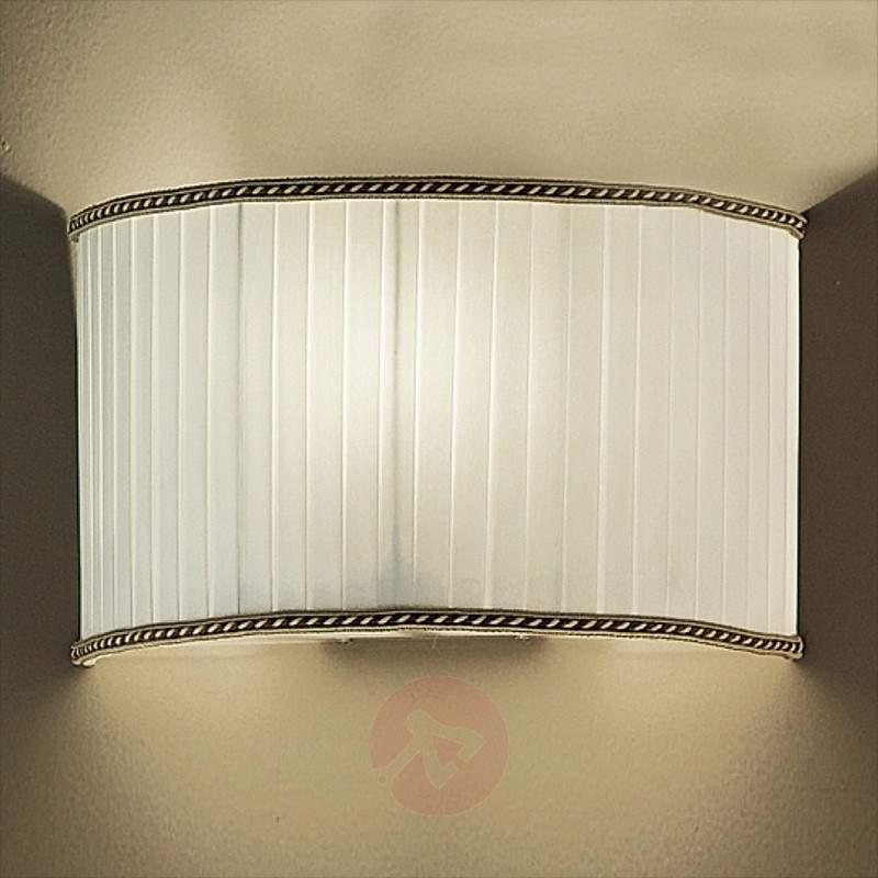 Donata Wall Light Stylish with Half Shade - Wall Lights
