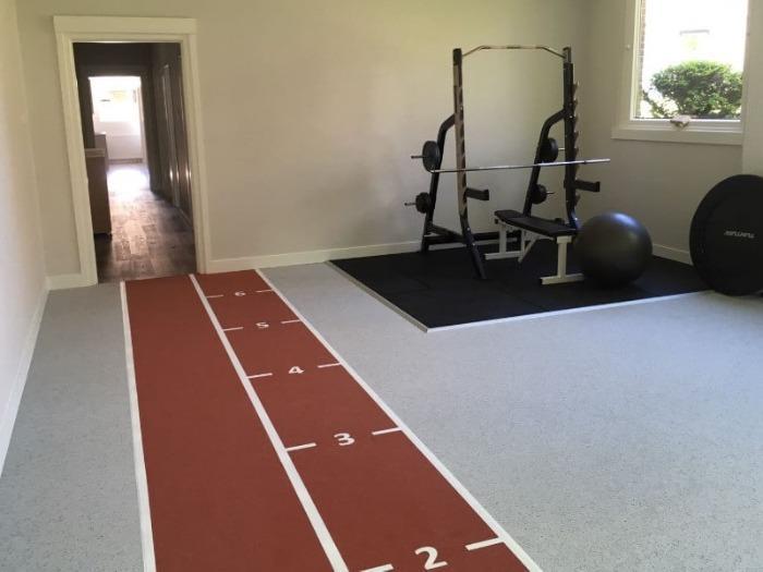 Envirosport Fysiovloer - Rubber fysiovloer die uitermate geschikt is voor functionele sportoefeningen