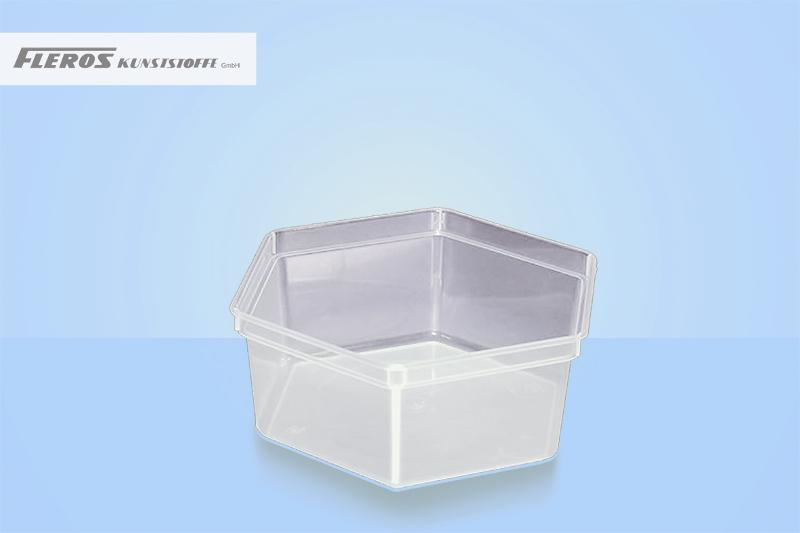 Rectangular bowls - SK 1.200 hexagonal bowl
