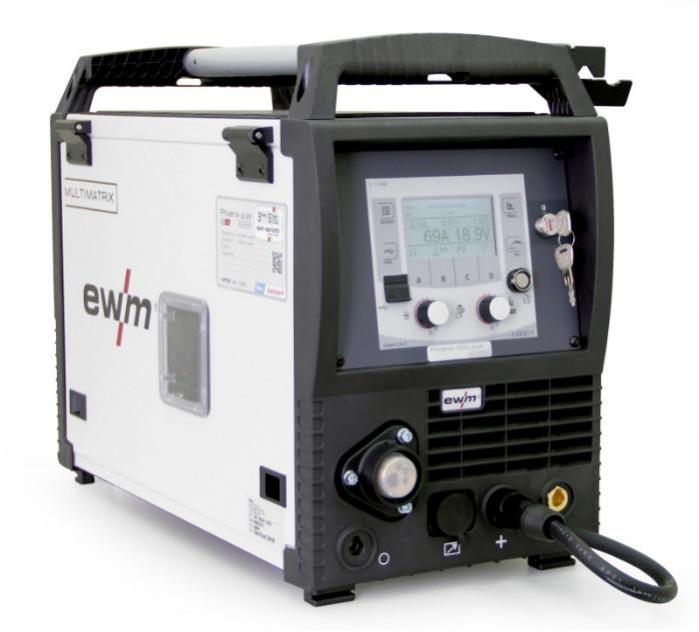 MIG/MAG inverter welding machine compact Phoenix 355 pulse - Compact MIG/MAG pulse inverter welding machine,  integrated wire feeder