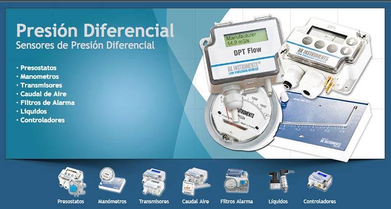 Presion Diferencial - transmisores para la medicion de Presion Diferencial