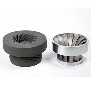 Impeller  - Large-format sand molds for metal casting